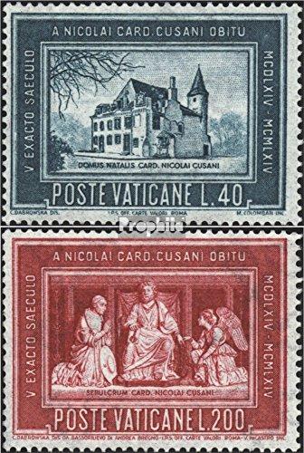 Prophila Collection Vatikanstadt 462-463 (kompl.Ausg.) 1964 Nikolaus von Kues (Briefmarken für Sammler) Religion