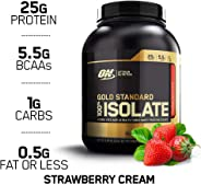 Optimum Nutrition Lapac Gs Isolate Strawberry Cream 5.0Lb