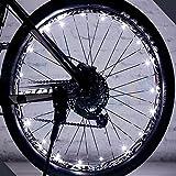 Rokoo 1 pc Rueda de la Bicicleta Luces LED Auto Ultra Brillante Impermeable Colorida de Rayos Accesorios del neumático