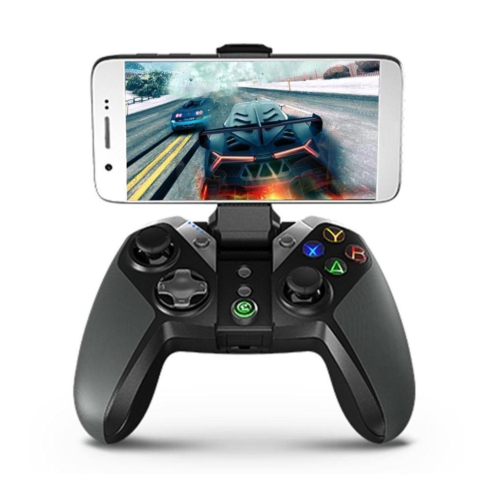 Wintesty GameSir G4 Bluetooth Gamepad avec Support de téléphone pour Android TV Box Phone Tablet Wired ou contrôleur sans Fil pour PC VR Jeux