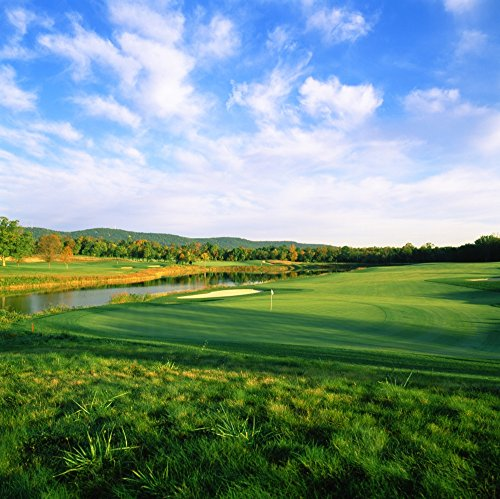 The Poster Corp Panoramic Images - Golf Course Bull Run Golf Club Haymarket Prince William County Virginia USA Photo Print (30,48 x 30,48 cm)