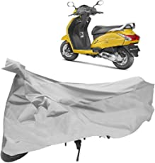 Autoridez Bike Cover forActiva 5G (Silver)