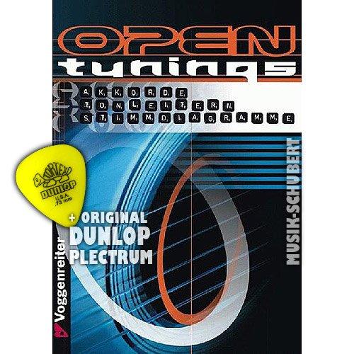 Open Tunings inkl. Plektrum - über 20 alternative Tunings für Gitarristen - Akkorde - Tonleitern - Stimmdiagramme - mit Transponier- und Kapodastertabelle (Taschenbuch DIN A5) von Jan Mohr und Robert Klein (Noten/Sheetmusic)
