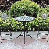 Mosaic Bistro Table & Chair Set (Design 4)