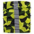 Buff Dog Reflective R-Block Camo Green S/M
