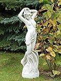 Schöne, erotische Frauenfigur Statue aus Steinguss frostfest