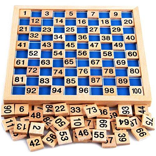 Puzzle matemático Natureich Montessori Juguete madera