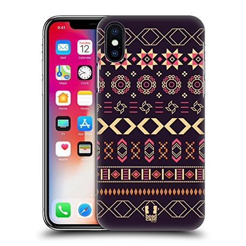 Head Case Designs Folklore Russo Stampe Etniche Multiculturali Cover Retro Rigida per Apple iPhone X Folklore Dei Balcani