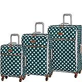 it luggage 3 Piece Set of Summer Spots Suitcases, 80 cm, 260 L