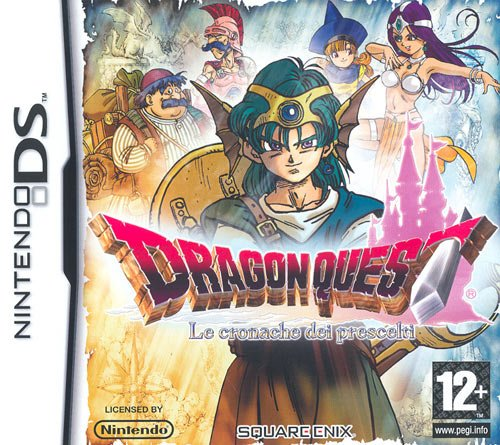 Dragon Quest: The Chapters Of Chosen [Importación italiana]