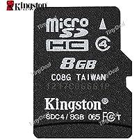 Kingston 8GB Class 4 Micro SDHC Memory Card