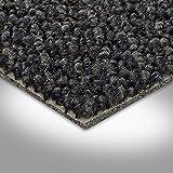 Vorwerk Premium strapazierfähiger Schlingen-Teppichboden Auslegeware 7213800016 schwarz - 4m breit