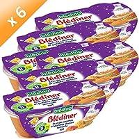 BLEDINER Patates Douces Carottes Sem. 2x200g (x6)