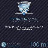 PROTOMAX Nano Antibeschlag Spray (Antifog) für Taucherbrillen & Tauchmasken (100 ml)