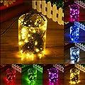 SOLMORE Solar Lichterkette Außenlichterkette LED String Licht 17M 100 LED Solarlichterkette mit 8 Farben für Weihnachten Hochzeit Garten Party Außen Dekoration von SOLMORE - Lampenhans.de