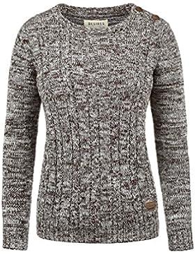 Desires Phia Jersey De Punto Suéter Sudadera De Punto Grueso para Mujer De 100% algodón