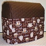 Kaffeetassen KitchenAid Tilt Head Stand Mixer Abdeckung Tilt Head schokobraun