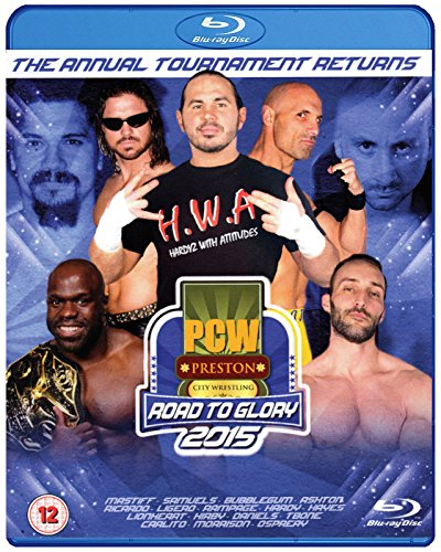 PCW - PRESTON CITY WRESTLING - Road To Glory 2015 3x BLU-RAY