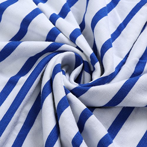 uideazone Damen Casual Tunika Tops Criss Cross V/Rundhals Lange Ärmel T-Shirts Weiß-2