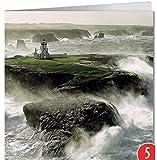 -5-er Packung: Grußkarte GEO von modern times +++ BEHÜTETES LICHT +++ BK-EDITION GEO © PLISSON, Philip