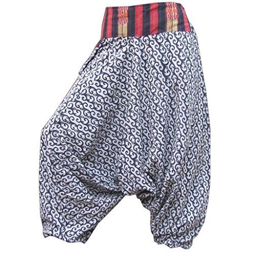 PANASIAM -  Pantaloni  - Taglio largo  - Donna Nero
