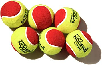 Nodens Cricket Tennis Ball Heavy Maroon, Heavy Multi Colour,Heavy Yellow,Light Yellow