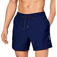 Costumi da Bagno Uomo, Pantaloncini da Bagno Costume da Bagno Pantaloncini Corti da Bagno Vita Elastica Regolabile…