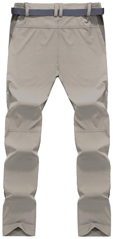 61zofUtZ50L - TACVASEN Men's Lightweight Sport Walking Trousers Outdoor Hiking Pants with Zipper Pockets