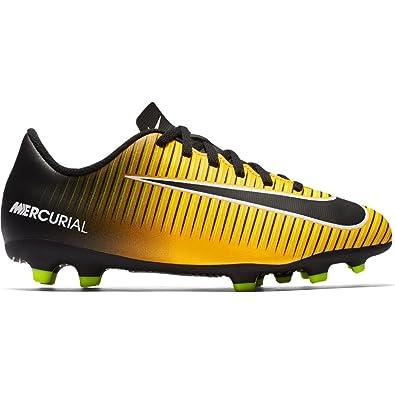 official photos fa9b8 fd333 Nike Unisex Kids  Jr Mercurial Vortex Iii Fg Football Boots