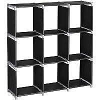 Alightup Armoire de Rangement, Meuble de Rangement Modulable, 9 Cubes Ouverts DIY, 32 x 29 x 33cm, Étagère de Rangement…
