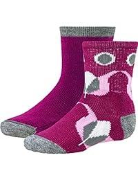 Smartwool Merino Baby und Kleinkind Socken, Frottee-Plüsch-Sohle Sock Sampler, Doppelpack