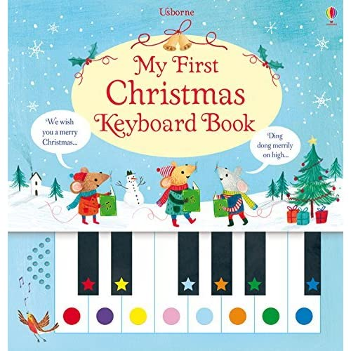 My First Christmas Keyboard Book by Rachel Stubbs (illustrator) Sam Taplin (author)(2015-11-01)