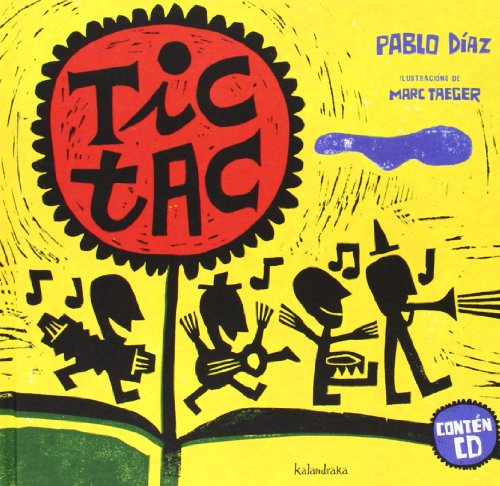 Tic-Tac (Libro-disco) por Pablo Andrés Díaz