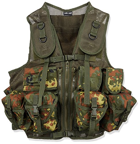 Mil-Tec Einsatzweste Tactical (9 TA.) Flecktarn