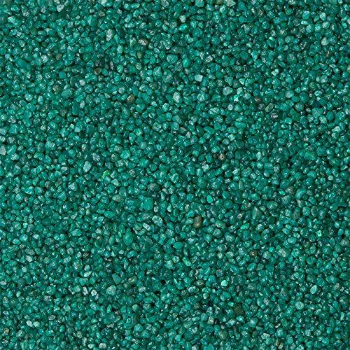 5 Kg Aquarium Farbkies 2-3 mm, Bodengrund Deko Kies, color Dekokies für das Aquarium oder Terrarium (grün)