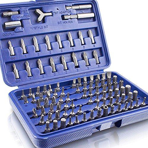 Preisvergleich Produktbild BITUXX® Bitsatz 100 teilig Werkzeugkoffer Sechskant Vielzahn Torx Innen Inbus Steck Nüsse Bits Bit Set