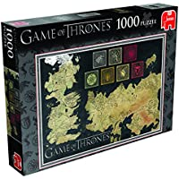 Game of Thrones: Map of The Known World Jigsaw Puzzle (1000 Pieces)