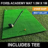 Best Golf Practice Nets - FORB Academy Golf Practice Mat - Portable Golf Review