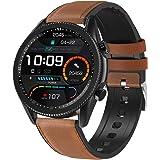 ANSUNG Relojes Inteligentes Hombre,Smartwatch con Llamada, con 24 Modos Deportivos Pulsómetro Calorías Monitor de Sueño Podóm