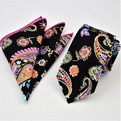 Tie Pocket Square Costume Mode coton doux Jacquard hommes , t12