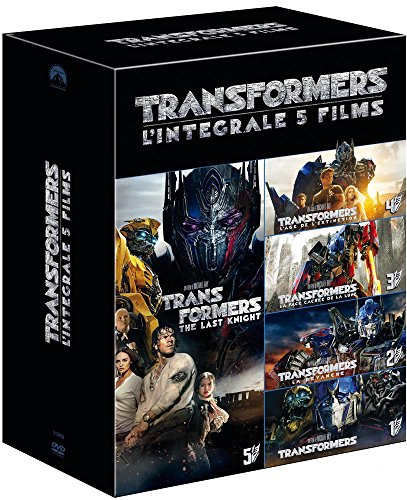 Transformers - Coffret : Transformers + Transformers 2 - La revanche + Transformers 3 - La face cachée de la Lune + Transformers : l'âge de l'extinction + Transformers : The Last Knight