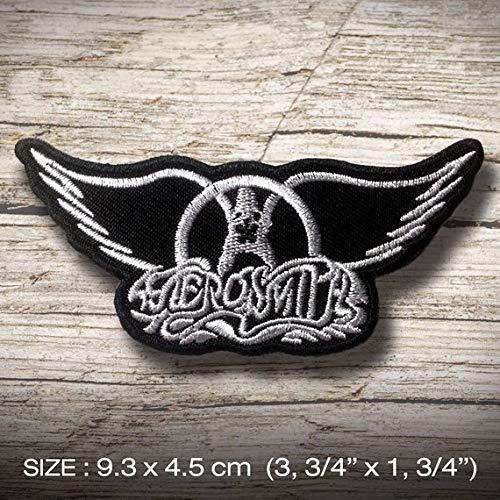 LipaLipaNa Aerosmith Hard Rock Aufnäher Besticktes Patch zum Aufbügeln Applique Souvenir Zubehör -