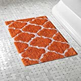 #8: The Home Talk Bath Mat/ Floor Rug, ultra-soft, anti-skid backing, water absorption capacity, Best for all interiors/looks, 45 x 60 CM- Orange