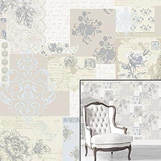 CWV Simplex Love Letters Quality Wallpaper Wallpaper Motif Beige M0817