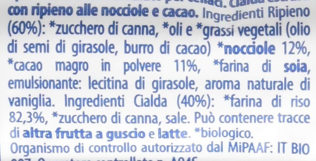 Probios Snack di Riso alla Nocciola - 24 confezioni da 25 gr, Senza glutine 4 spesavip