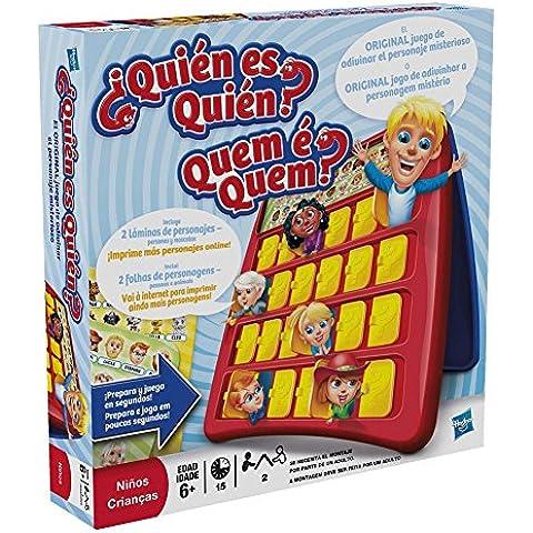 Hasbro Gaming - Juego de habilidad ¿Quién es quién? (05801175) (versión española/portuguesa)