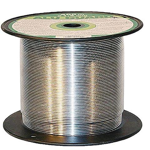 400 m Aluminium Weidezaundraht Ø 1,8 mm Elektrozaun Bruchlast 75 kg