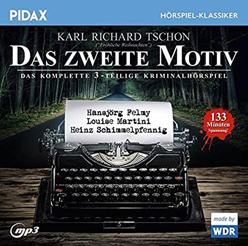 Motive Cd (Das zweite Motiv / Das komplette 3-teilige Kriminalhörspiel mit Hansjörg Felmy, Louise Martini und Heinz Schimmelpfennig (Pidax Hörspiel-Klassiker))