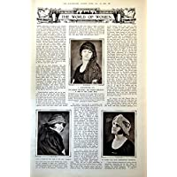 Stampi le Donne che del Mondo i Cappelli Merlettano il Memoriale di Guerra Di Seta (Cappelli Vittoriani Per Le Donne)