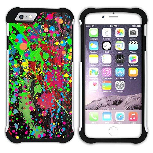 Graphic4You Flasche Farbe Farben Kunst Gemälde Malerei Hart + Weiche Kratzfeste Hülle Case Schale Tasche Schutzhülle für Apple iPhone 6 Plus / 6S Plus Design #8